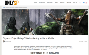 WARTILE Featured in OnlySP